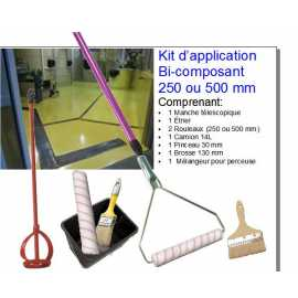 KIT D'APPLICATION BICOMPOSANT 250 mm