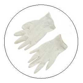 Paire de gants latex