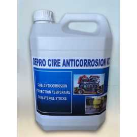 PROTECTION ANTICORROSION TEMPORAIRE