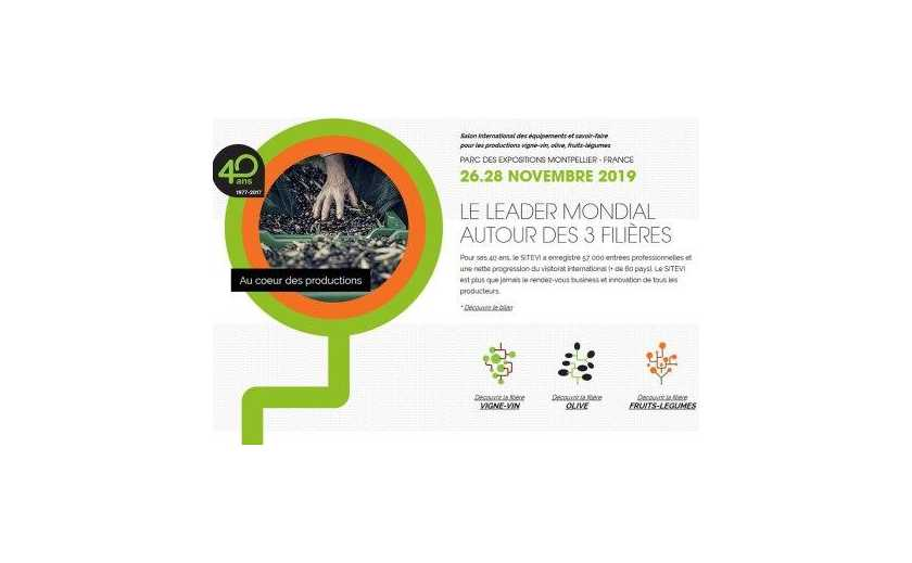SITEVI MONTPELLIER 2019 - We will be there